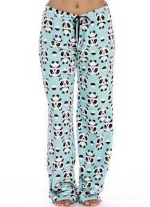 Women's Panda Pajama Pants