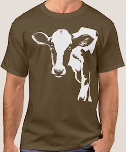 Cow From The Side T-Shirt
