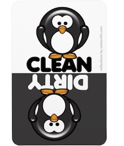 Penguin Dishwasher Magnet