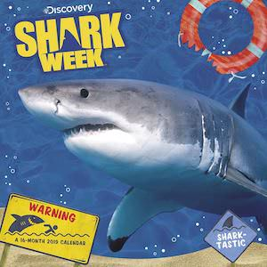 2019 Shark Week Wall Calendar