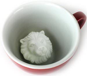 Lion Inside Mug