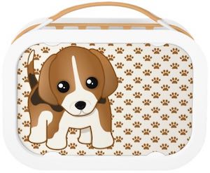 Beagle Lunch Box