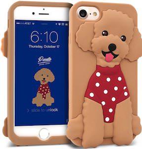 Poodle iPhone 8 Case