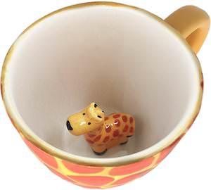 Surprise Giraffe Mug
