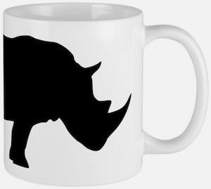 Rhinoceros Mug
