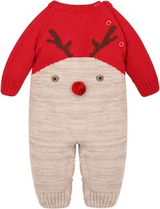 infant Reindeer Bodysuit
