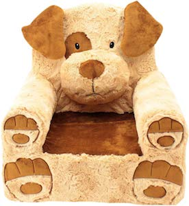 Brown dog Kids Chair