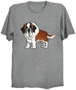 St. Bernard Dog T-Shirt