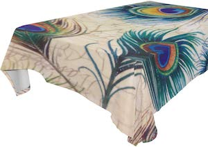 Peacock Tablecloth