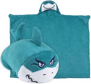 Shark Pillow Blanket