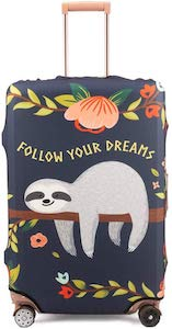 Sloth Suitcase Cover