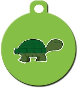 Turtle Pet ID Tag