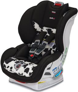 Cow Print Car Seat