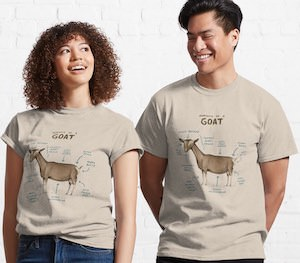Goat Anatomy T-Shirt