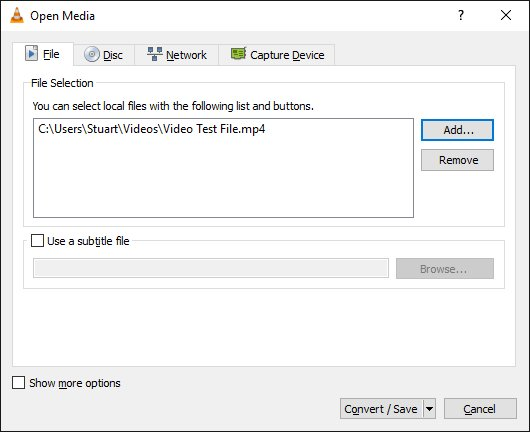 Extract Audio from Video with VLC Media Player – Harsha