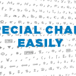 How To Type Special Characters With Keyboard Shortcuts – Windows