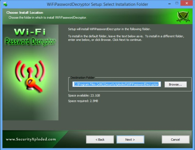 Forgot WiFi Password - Install Wi-Fi Password Decryptor