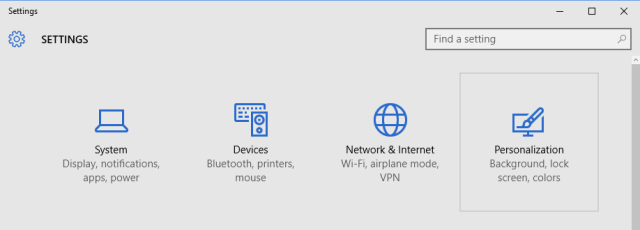 turn-off-app-suggestions-win10-select-personalization