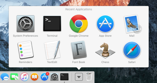 mac-osx-dock-recent-applications