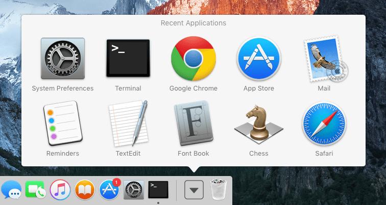 mac-osx-dock-recent-applications