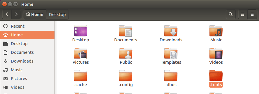 install-microsoft-fonts-ubuntu-create-fonts-folder