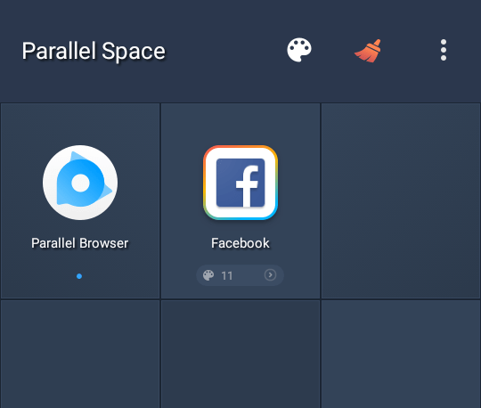 multiple facebook accounts on android facebook app added