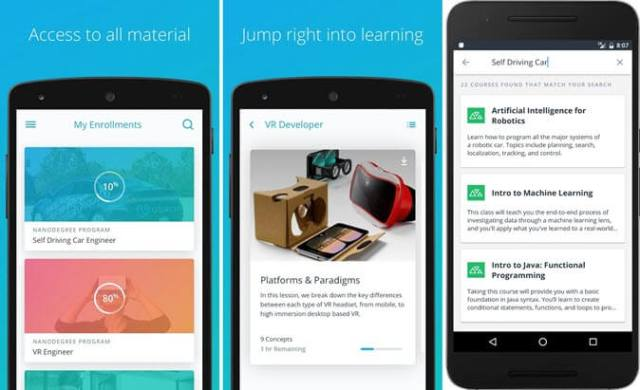 Best Android Apps to Learn Programming - Udacity