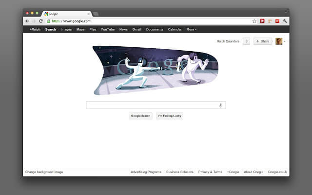 Dark themes for Google Chrome - Dark Horizon