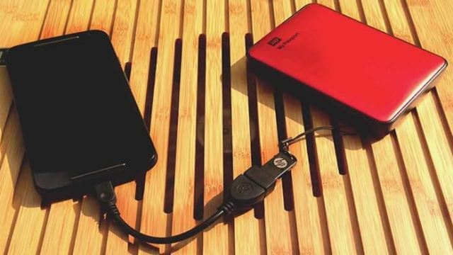 Top 10 uses of OTG cable - connect external hard drive