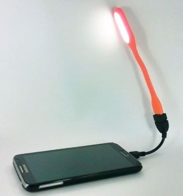 Connect USB OTG LED Light