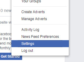 how to hide facebook profile but keep page