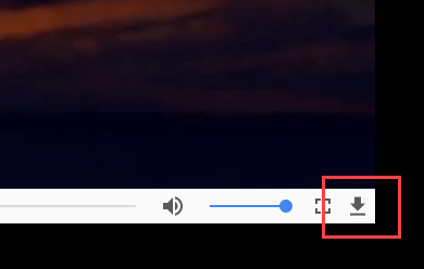 Download YouTube videos VLC- click on download button