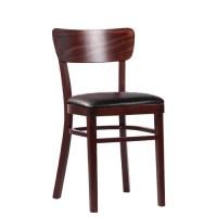Gastronomie Stühle aus Holz mit Sitzpolster   Holzstühle ...