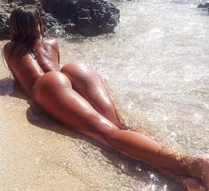 cul de femme black du 21 nue en photo