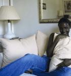 hot femme noire nue dans le 35 en photo