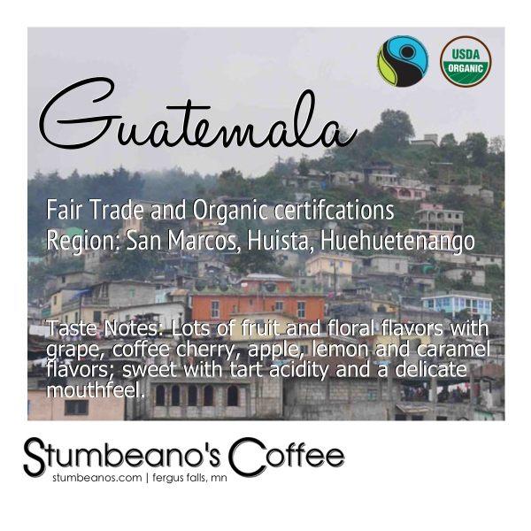 FTO coffee guatemala