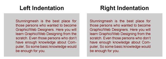 paragraph-indentation