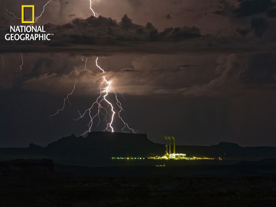 Lightning, Utah-Arizona Border