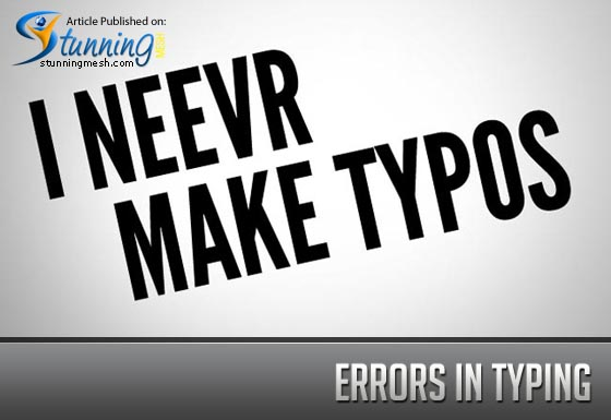 Errors in Typing