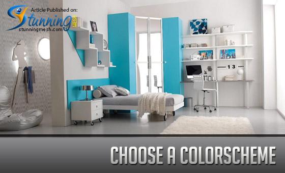 Choose a color scheme