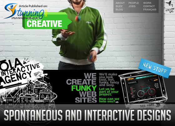 Spontaneous and Interactive Designs