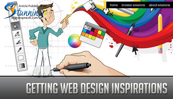 Getting Web Design Inspirations