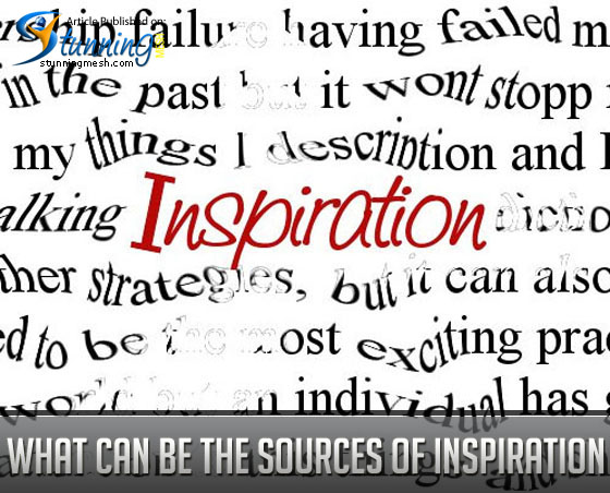 What Can Be the Sources of Inspiration