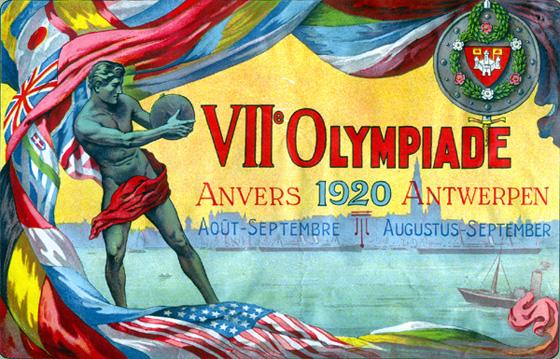 Antwerp Olympic 1920 Logo