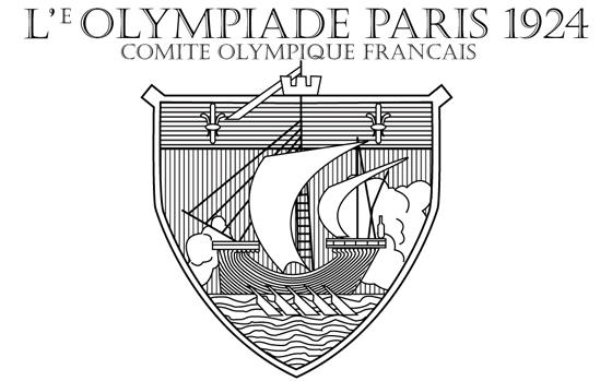 Paris Olympic 1924 Logo