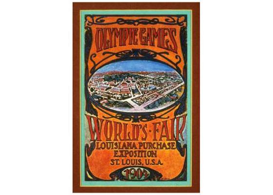 St. Louis Olympic 1904 Logo