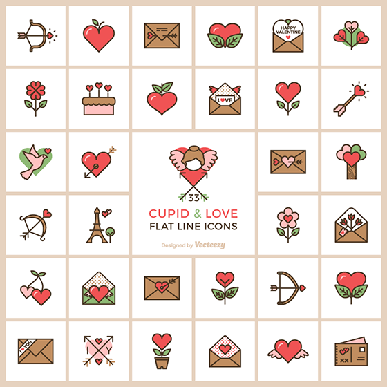 Cupid Love Free Icons