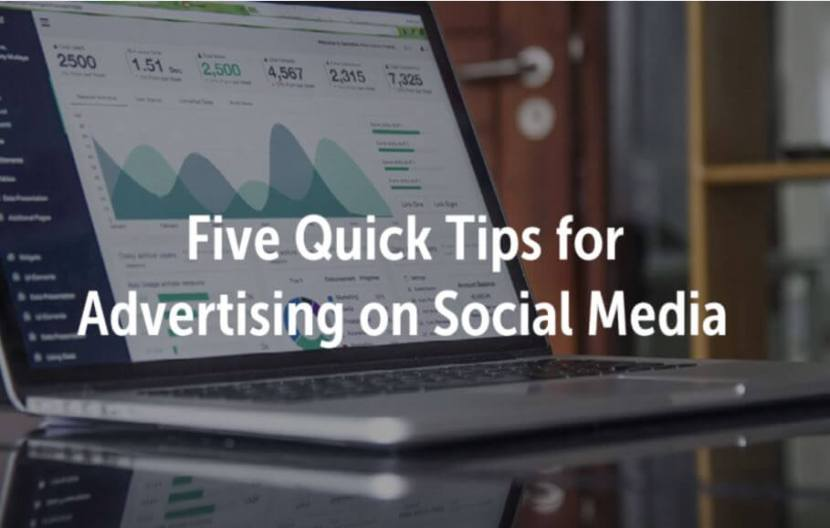 tips for advertising on social media cover photo