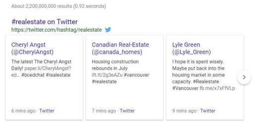 google and twitter example