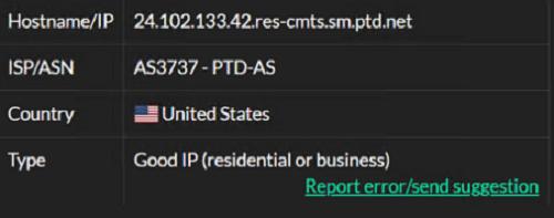 IP6- 24.102.133.42 ISP test